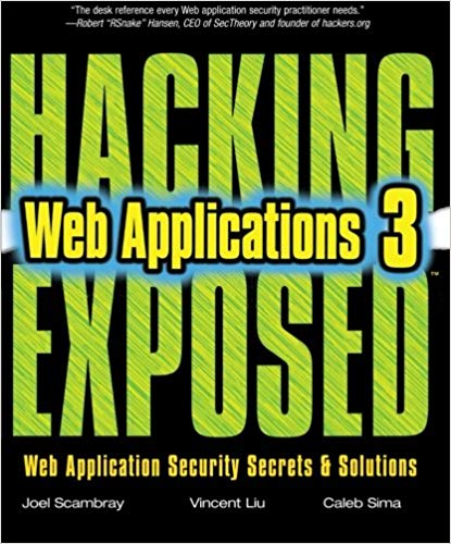 Hacking Exposed: Web Applications 3