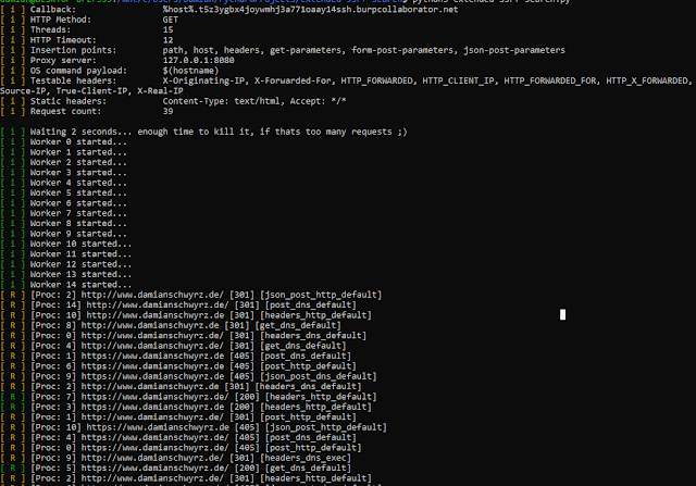 Extended-SSRF-Search – Smart SSRF Scanner Using Different Methods Like Parameter Brute Forcing In Post And Get…