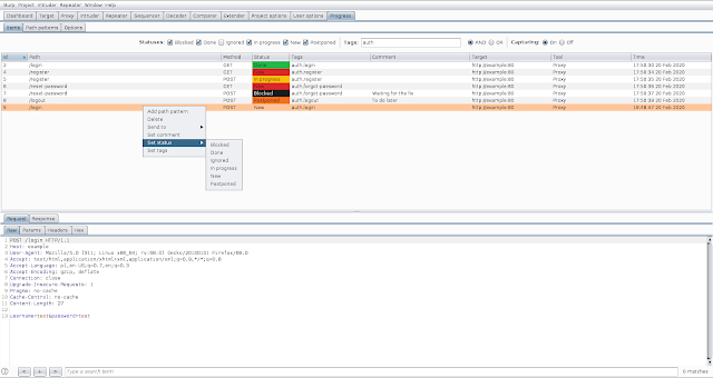 Progress-Burp – Burp Suite Extension To Track Vulnerability Assessment Progress