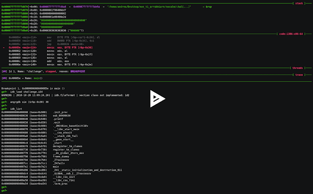 Angrgdb – Use Angr Inside GDB – Create An Angr State From The Current Debugger State