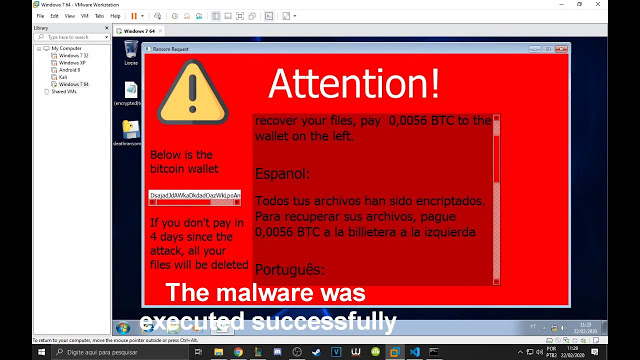 DeathRansom - A Ransomware Developed In Python, With Bypass Technics, For Educational Purposes