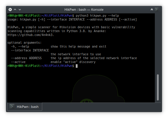 HikPwn - A Simple Scanner For Hikvision Devices