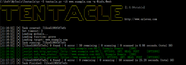 Tentacle – A POC Vulnerability Verification And Exploit Framework