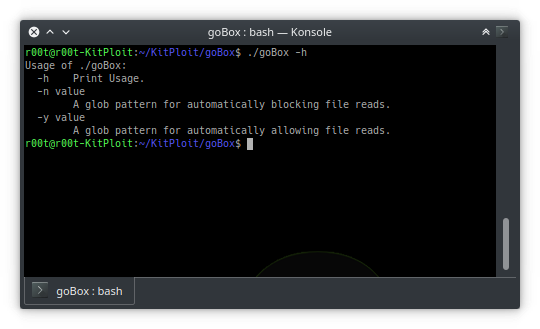 goBox – GO Sandbox To Run Untrusted Code
