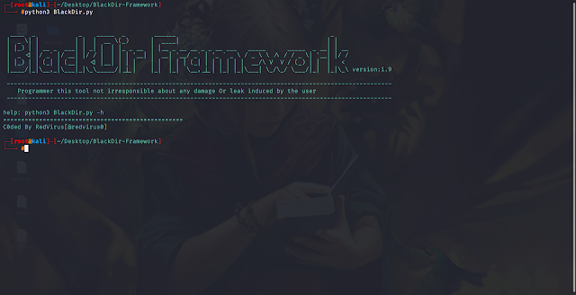BlackDir-Framework – Web Application Vulnerability Scanner