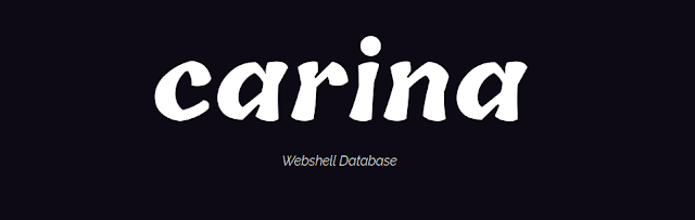 Carina – Webshell, Virtual Private Server (VPS) And cPanel Database