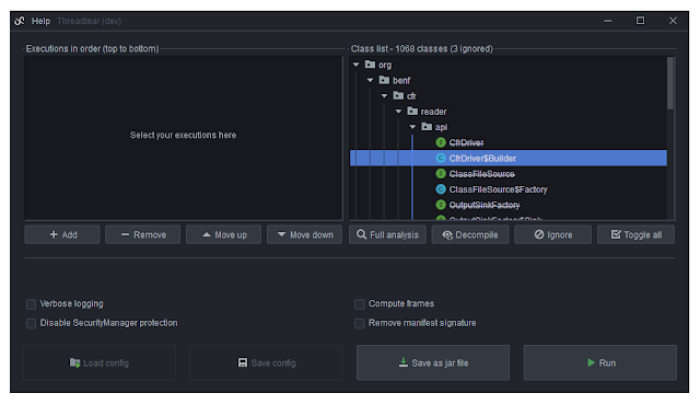 Threadtear – Multifunctional Java Deobfuscation Tool Suite