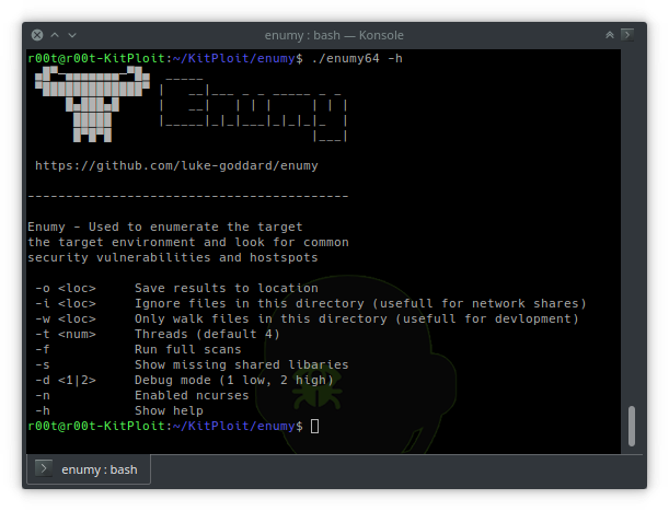 Enumy – Linux Post Exploitation Privilege Escalation Enumeration