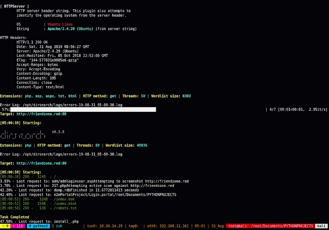 O.G. AUTO-RECON – Enumerate A Target Based Off Of Nmap Results