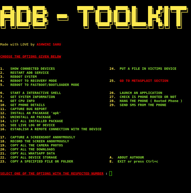 ADB-Toolkit – Tool for testing your Android device