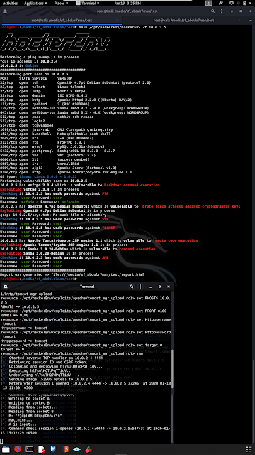 hackerEnv – An Automation Tool That Quickly And Easily Sweep IPs And Scan Ports, Vulnerabilities And Exploit Them