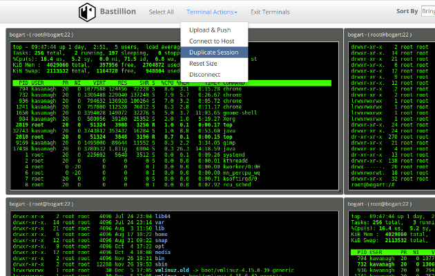 Bastillion – A Web-Based SSH Console That Centrally Manages Administrative Access To Systems