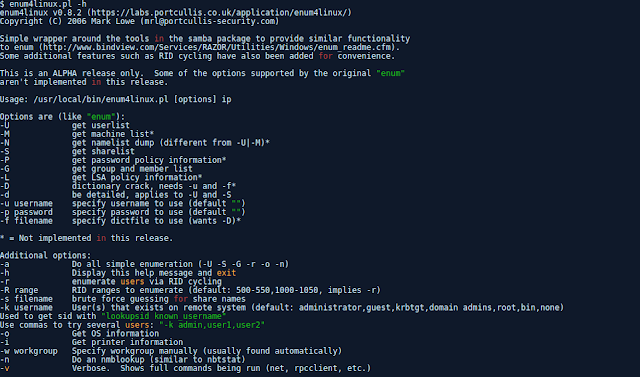 Enum4Linux – A Linux Alternative To Enum.Exe For Enumerating Data From Windows And Samba Hosts