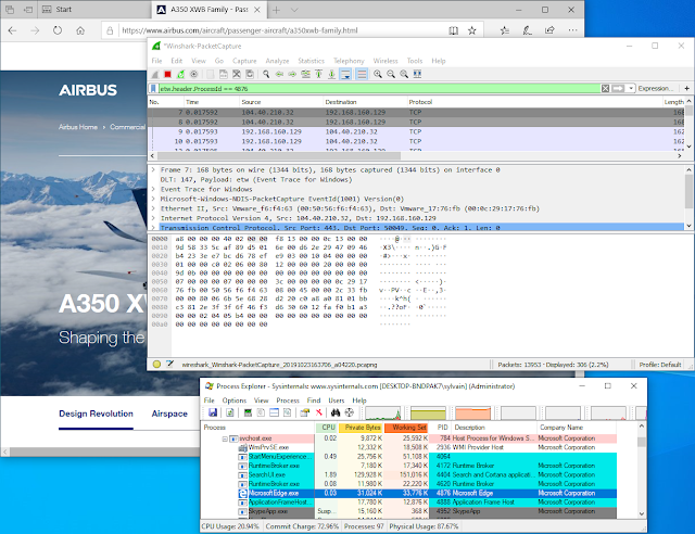 Winshark - A Wireshark Plugin To Instrument ETW