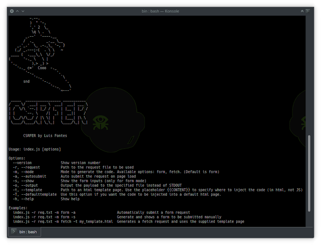 CSRFER – Tool To Generate CSRF Payloads Based On Vulnerable Requests