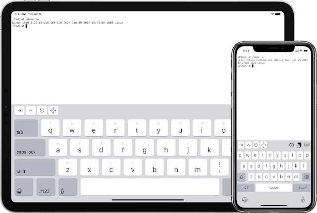 iSH – Linux Shell For iOS