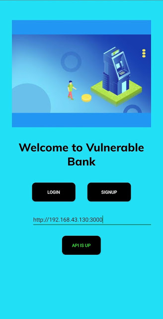 Damn-Vulnerable-Bank – Vulnerable Banking Application For Android