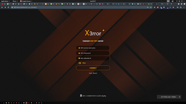 Xerror – Fully Automated Pentesting Tool