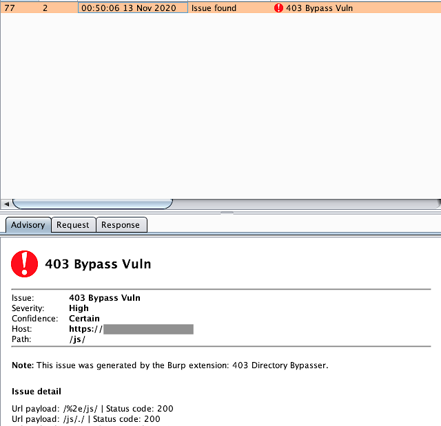 403Bypasser – Burpsuite Extension To Bypass 403 Restricted Directory
