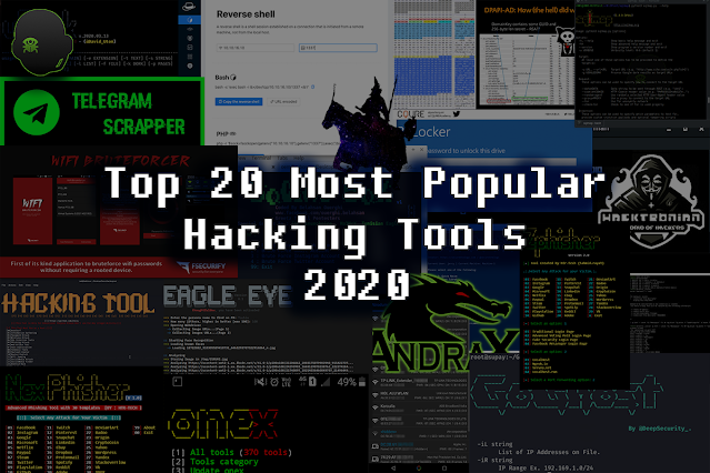 Top 20 Most Popular Hacking Tools in 2020