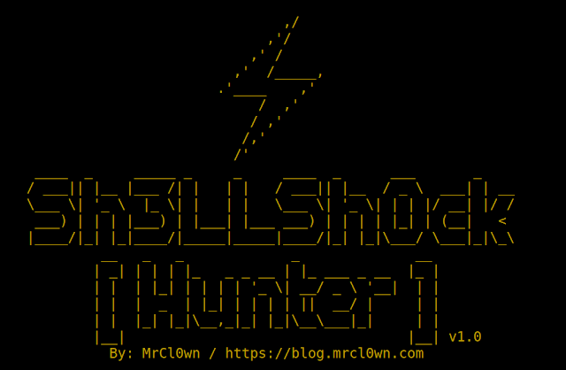 ShellShockHunter – It's A Simple Tool For Test Vulnerability Shellshock