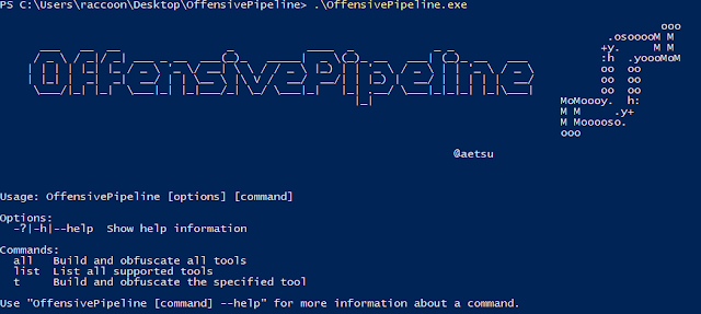 OffensivePipeline – Tool To Download, Compile (Without Visual Studio) And Obfuscate C# Tools For Red Team Exercises