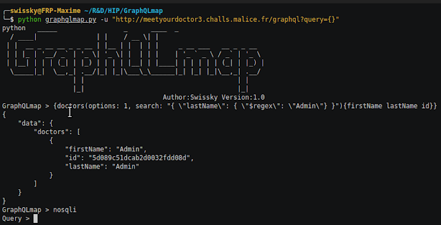 GraphQLmap – A Scripting Engine To Interact With A Graphql Endpoint For Pentesting Purposes