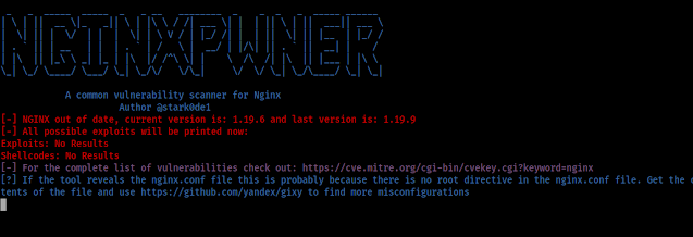 Nginxpwner -  Tool to look for common Nginx misconfigurations and vulnerabilities