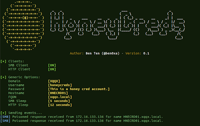 HoneyCreds – Network Credential Injection To Detect Responder And Other Network Poisoners