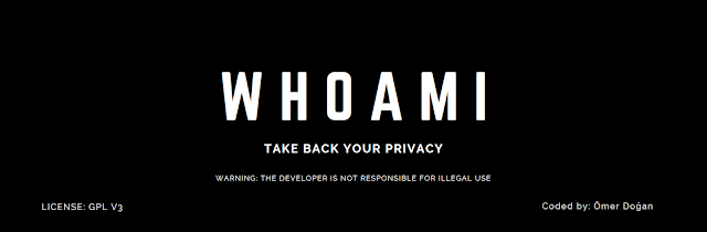 Kali-Whoami - A Privacy Tool Developed To Keep You Anonymous On Kali Linux At The Highest Level