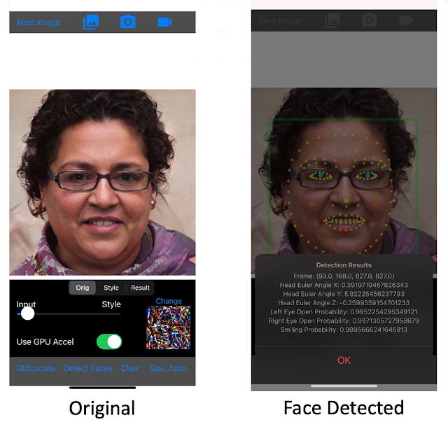 Ruse – Mobile Camera-Based Application That Attempts To Alter Photos To Preserve Their Utility To Humans While Making Them Unusable For Facial Recognition Systems